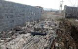 مرگ تلخ کارگر ۱۴ ساله زیر دیوار یک خانه در اصفهان +عکس