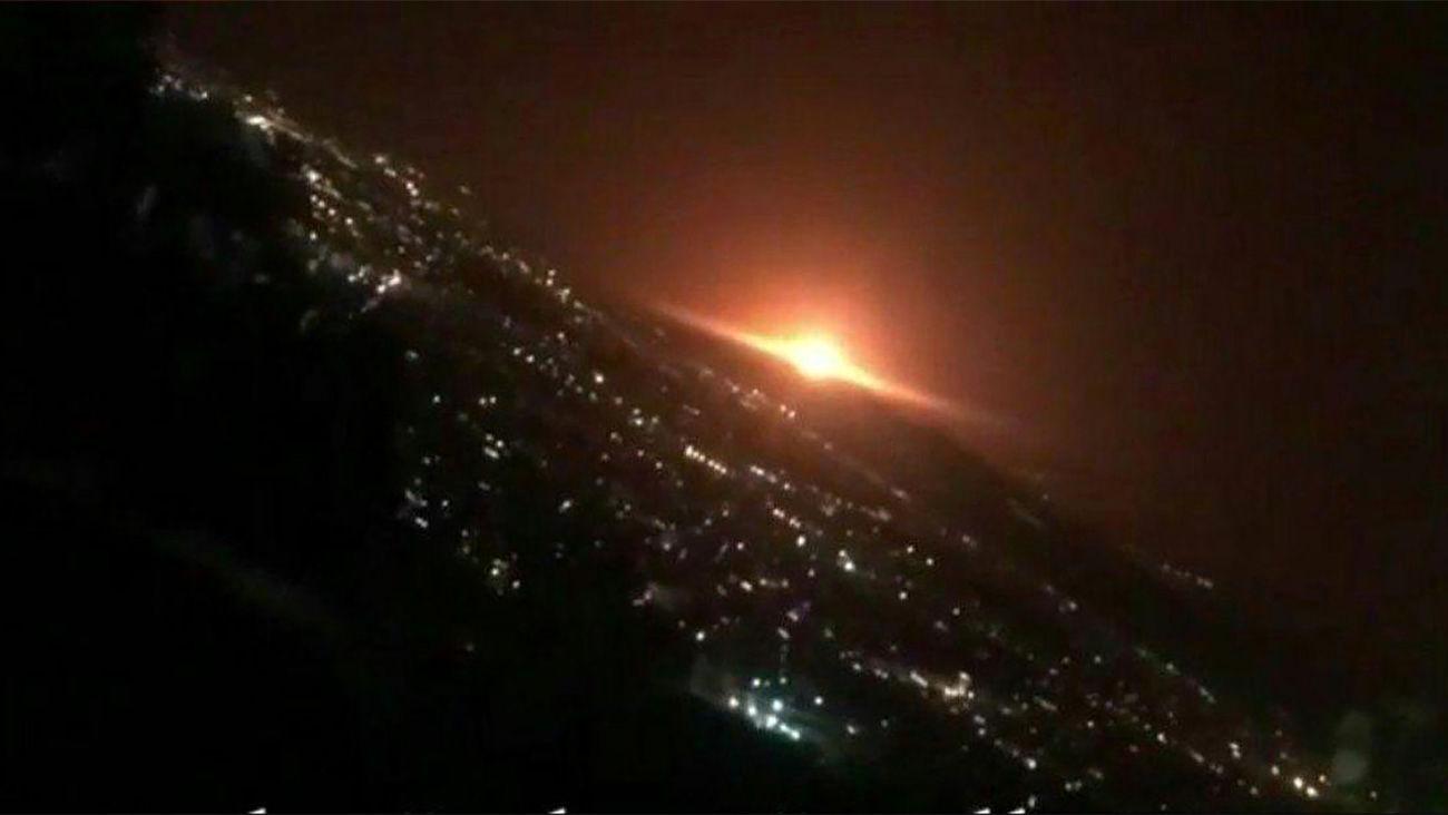 علت انفجار در شرق تهران چیست؟! + فیلم انفجار در شرق تهران