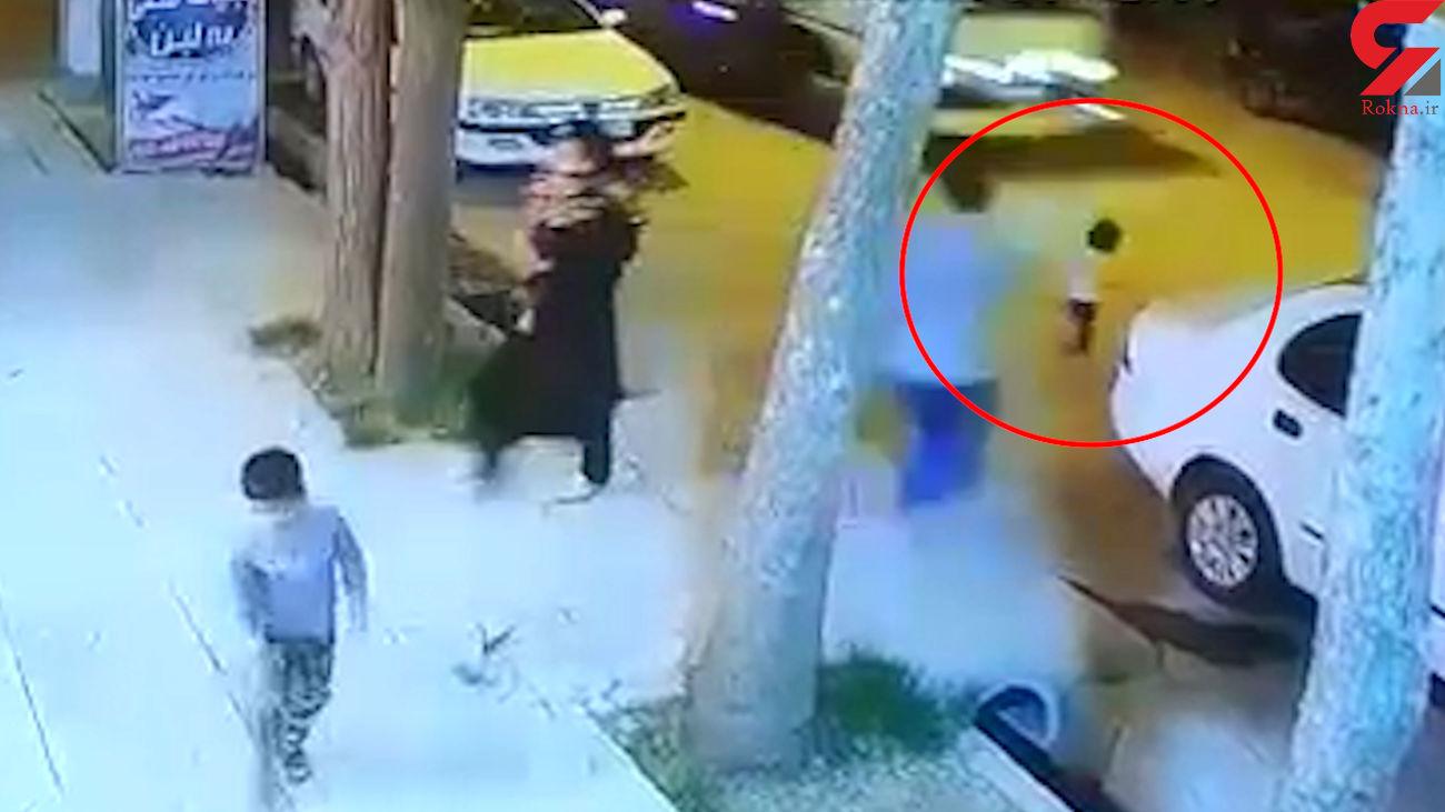 فیلمی که مو به تن سیخ می کند! / نجات کودک از مرگ توسط مرد سمیرمی