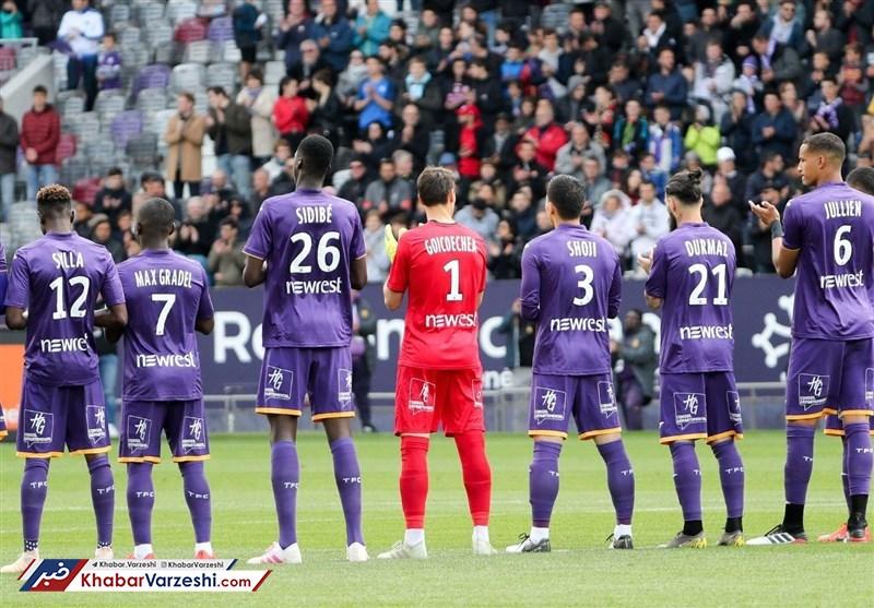 لیگ فرانسه تعطیل شد، اما ۴ بازیکن تولوز کرونا گرفتند