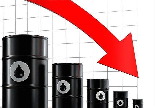 سقوط آزاد قیمت نفت
