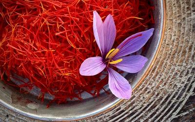 سود میلیونی دلالان از فروش هر کیلو زعفران