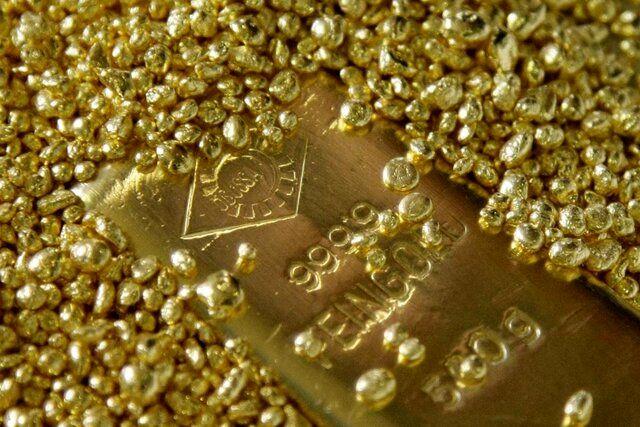 قیمت جهانی طلا در ۳ تیر ۹۹