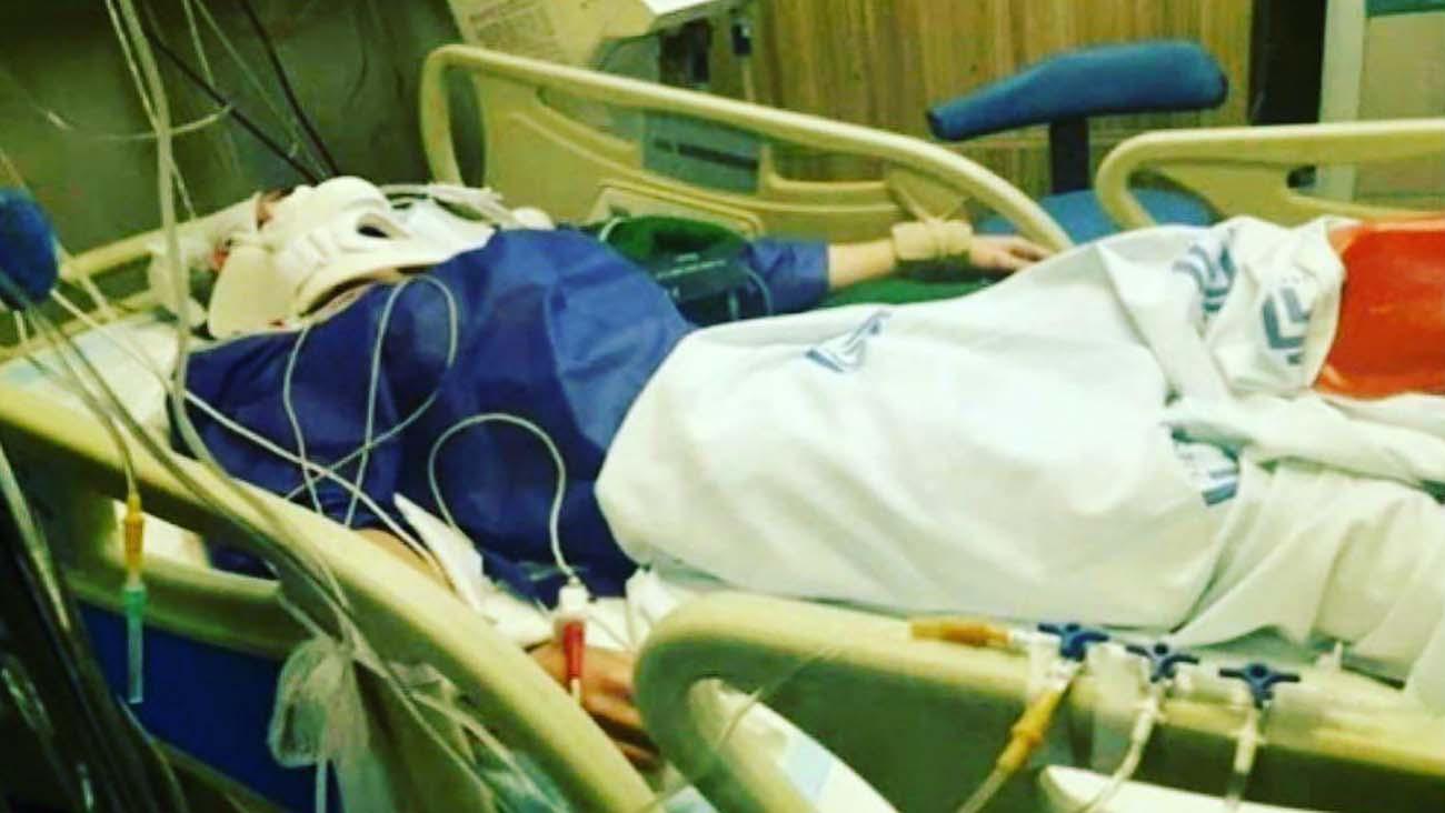 افسوس خانم بازیگر از حمله پدر با کلنگ به دخترش هانیه / آرزوی روشنک عجمیان  + عکس