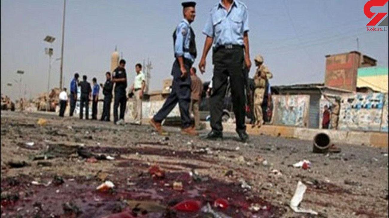 انفجار در یک پادگان جنوب بغداد