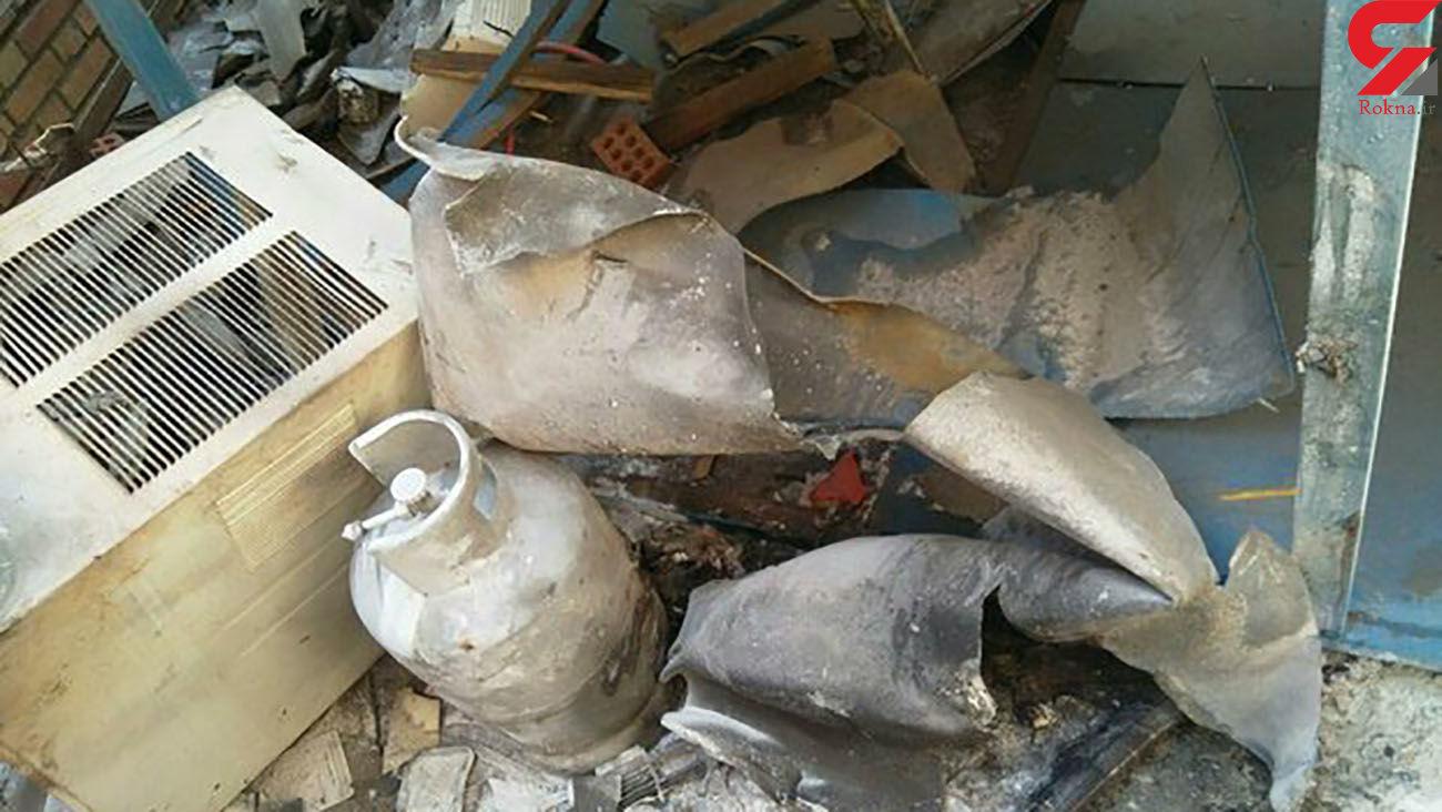 انفجار یک منزل مسکونی در هشتگرد
