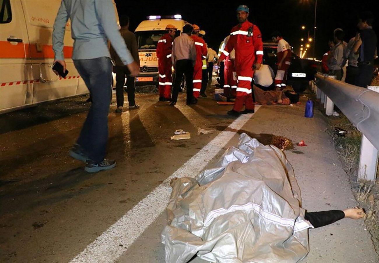 تصادف خاور با عابر پیاده یک کشته بر جای گذاشت / در کرج رخ داد