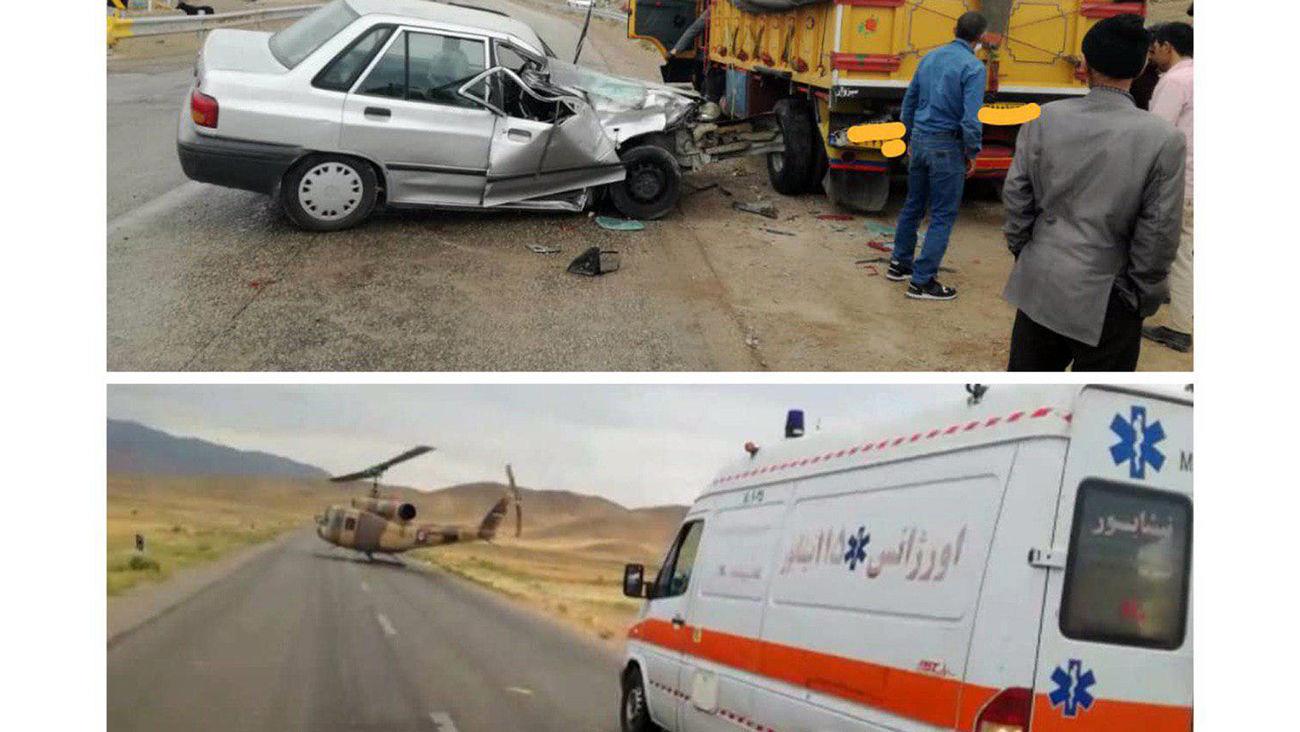 حادثه ای عجیب در نیشابور / این مرد از دنیای مردگان برگشت+ عکس محل حادثه