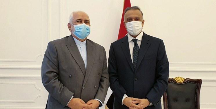 دو دیدار مهم ظریف در عراق +تصاویر
