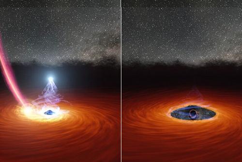 سیاه چالهای که ۱ سال غیب شد + عکس