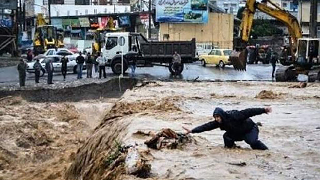 باران هم در لاریجان آدم کشت