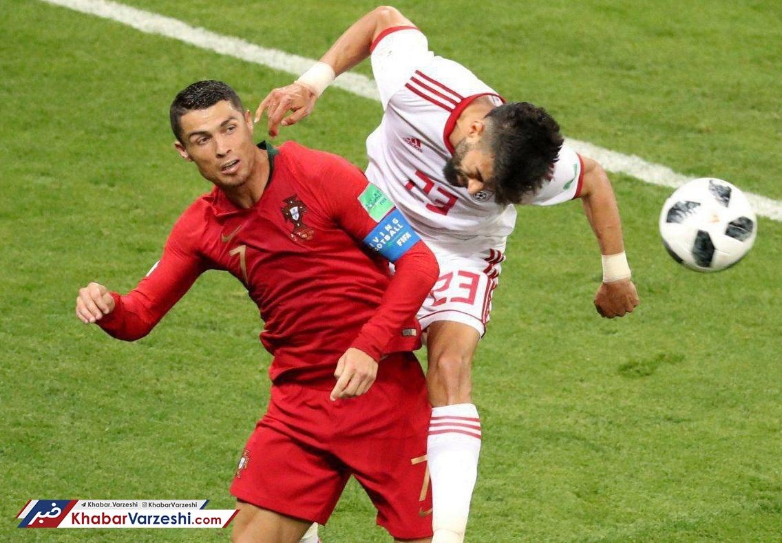 عکس| توضیح تاچ فوتبالی توسظ رامین رضاییان در اینستاگرام!