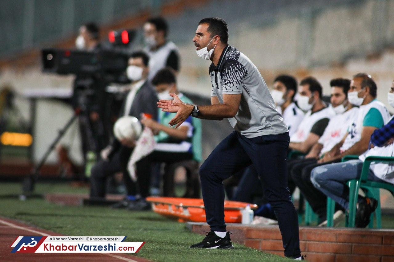 مربی استقلال: کروناییهای تیم در حد خودشان نبودند