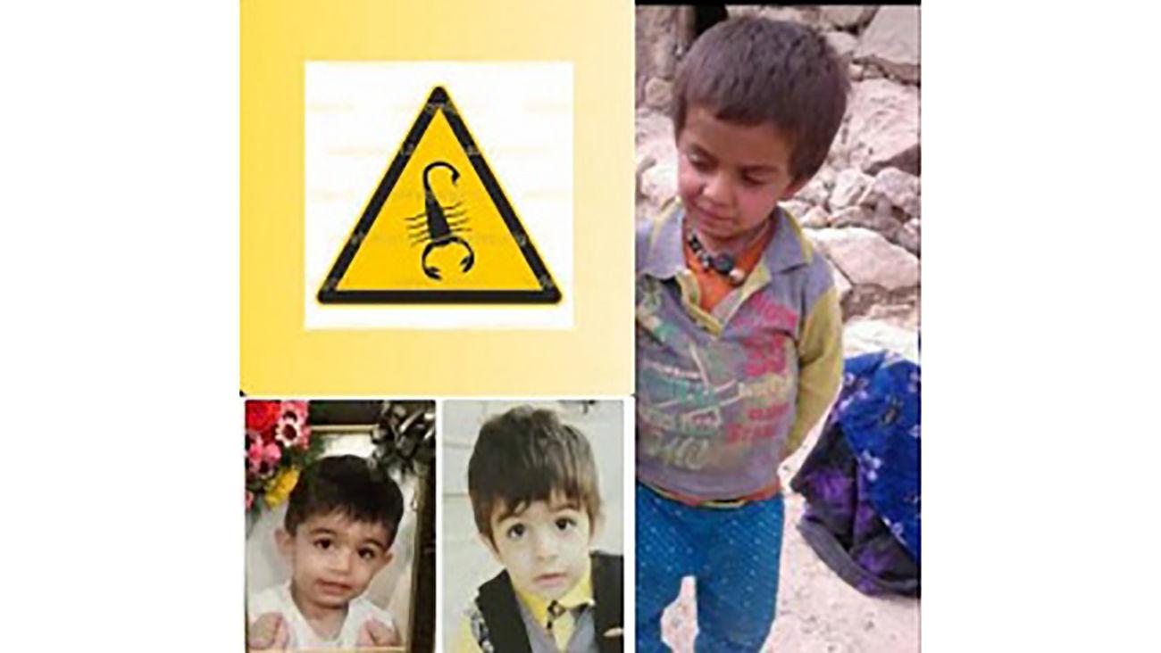 جزییات مرگ ۶ کودک و یک زن با نیش عقرب در اندیکا + عکس ۳ کودک