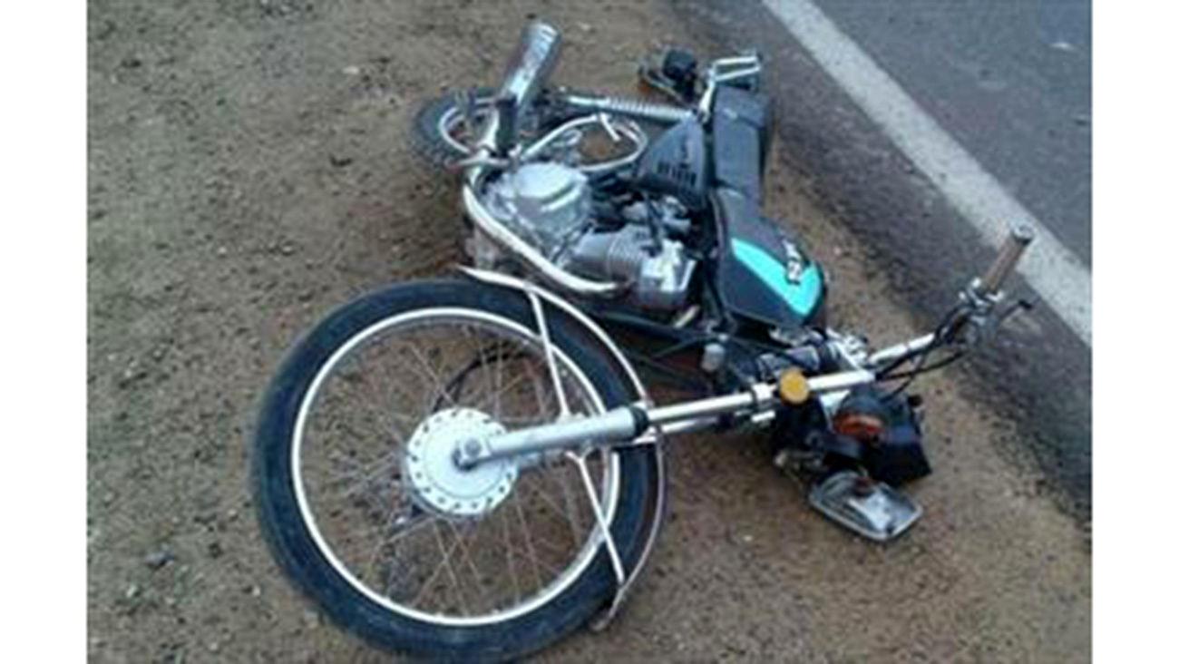 مرگ تلخ موتور سوار جوان پس از پرواز در آسمان + عکس