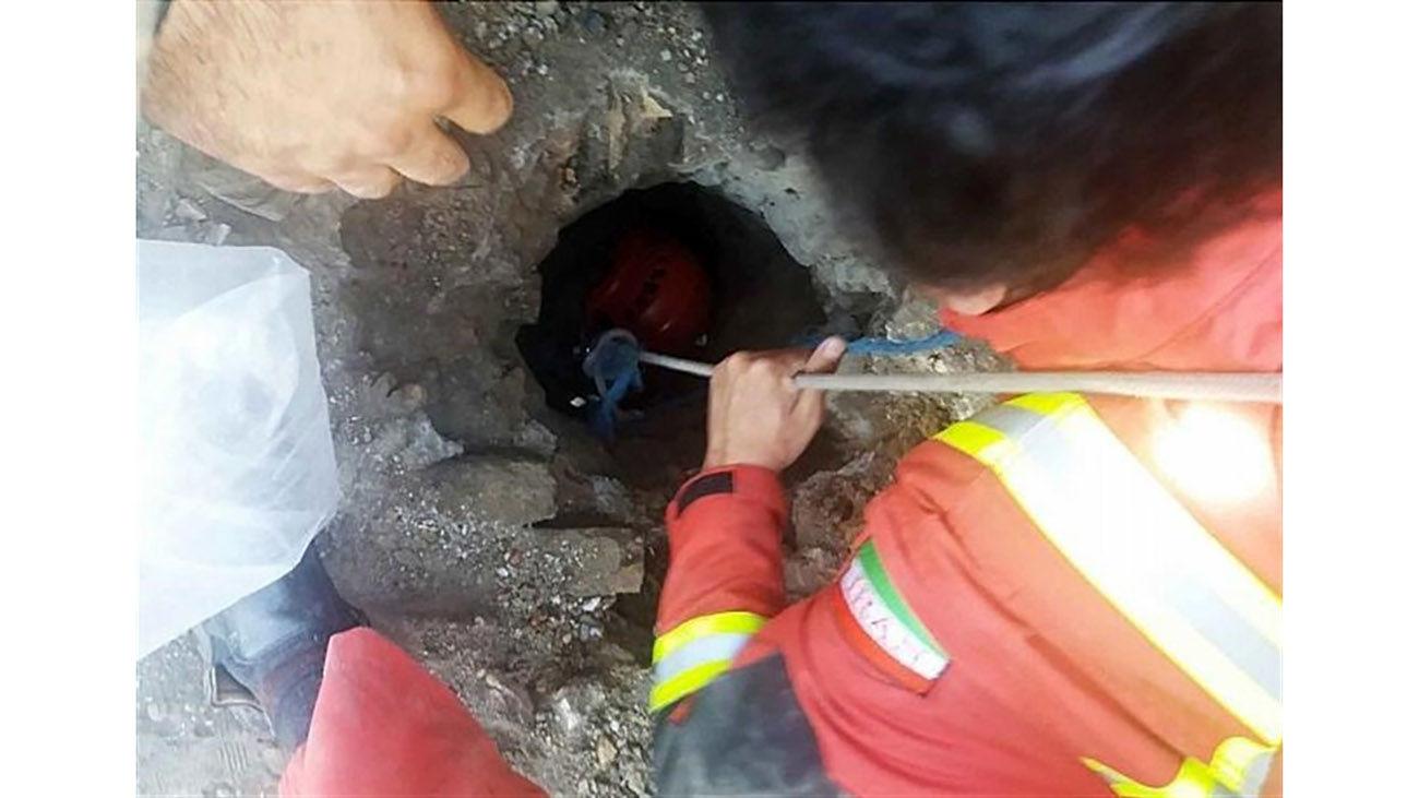 زن قزوینی در عمق چاه زنده به گور شد و زنده ماند