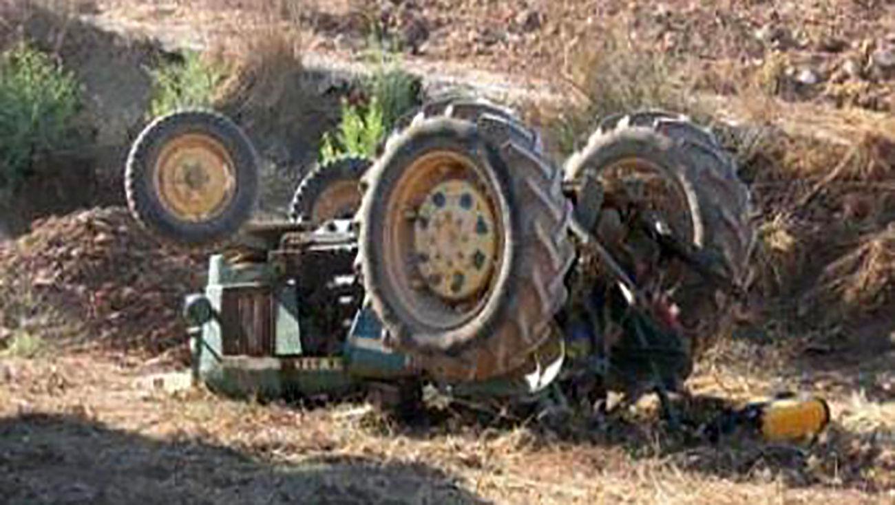 یک کشته و ۵ مصدوم در اثر واژگونی تراکتور / در دیواندره رخ داد