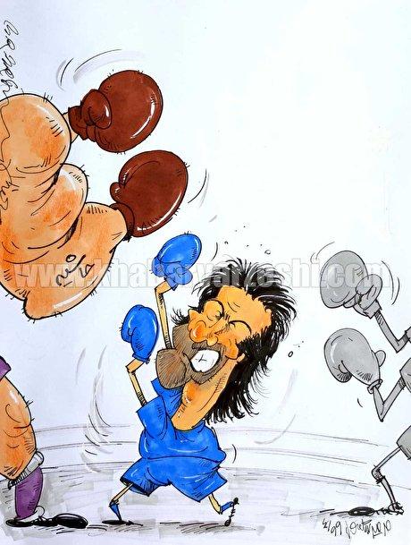 کارتون| حریف اصلی مجیدی و استقلال