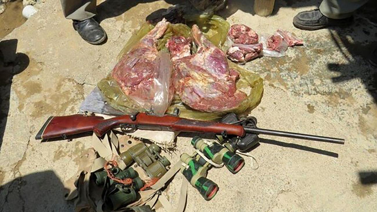 دستگیری شکارچیان متخلف در دامغان