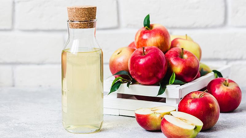 سرکه سیب و معجزه آن برای موی سر