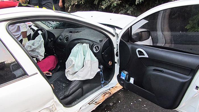 ۵ عکس از صحنه تصادف زنجیره ای در شهریار