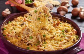 طرز تهیه چیکن تترازینی؛ یکی از غذاهای جذاب ایتالیایی