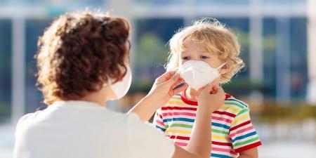 چطور کودک را قانع کنیم که ماسک بزند؟
