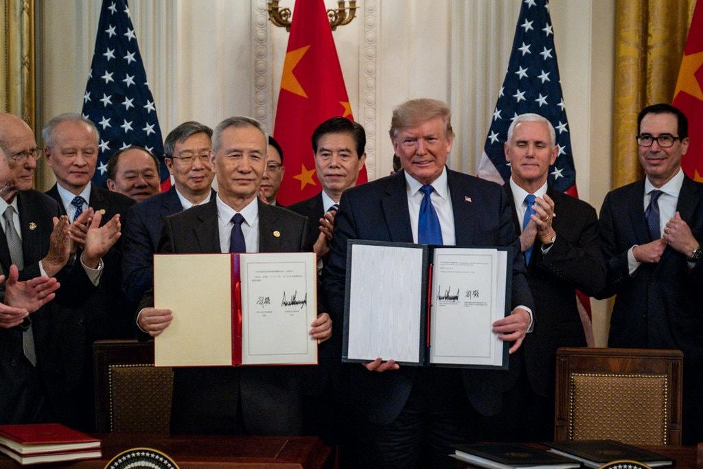 قرارداد تجاری چین و آمریکا