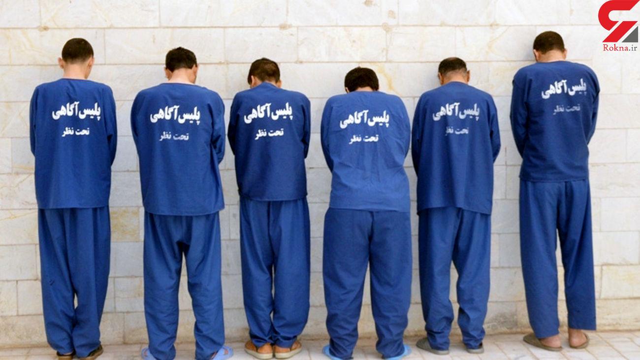 انهدام باند سارقان مسلح در خوزستان