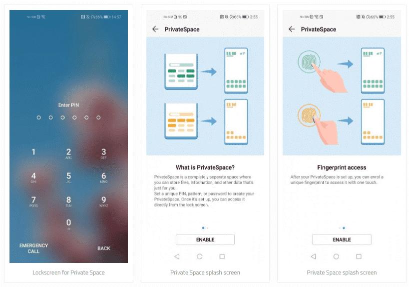 با قابلیتهای فضای خصوصی در گوشیهای هوآوی آشنا شوید