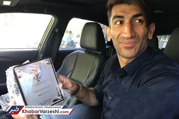 بیرانوند: هدف من این است که برای ایران آبروداری کنم