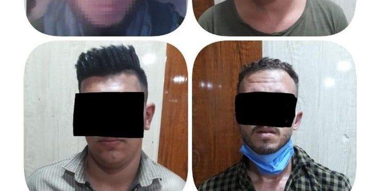 بازداشت تعدادی تروریست داعشی در شمال عراق