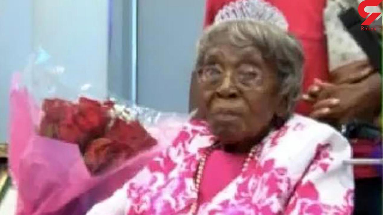تولد مادر بزرگ ۱۱۶ ساله با ۲۰۰ نتیجه ! + عکس