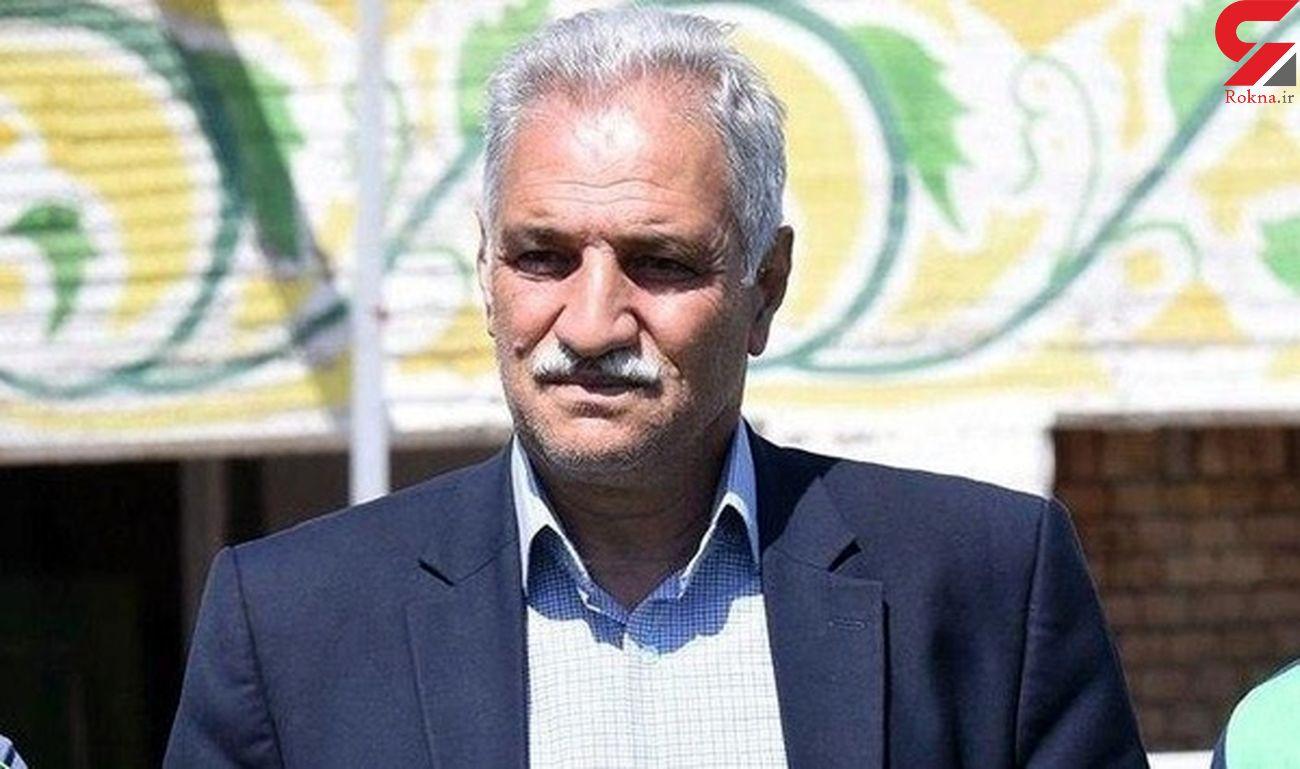 حادثه ای تلخ برای سرپرست باشگاه ماشین سازی پس از گل رضا اسدی/ برای او دعا کنید + عکس