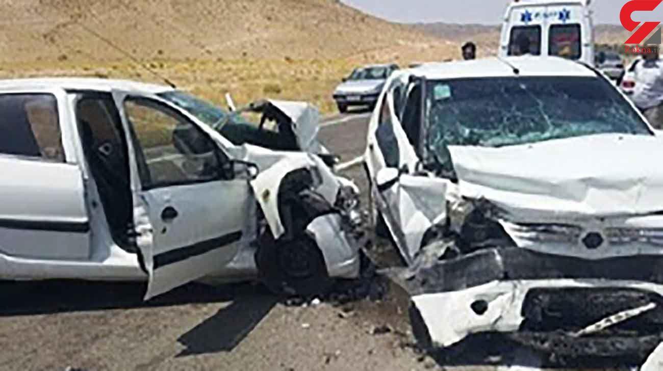 حادثه رانندگی با 5 مصدوم در تهران / نشت گازوئیل علت حادثه بود