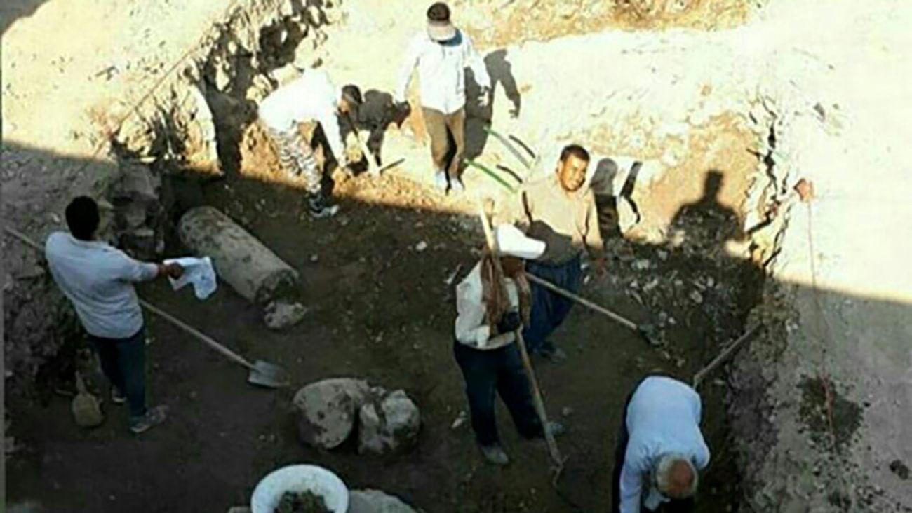 کشف سرنخی از معبد لائودیسه در نهاوند/ فصل پنجم کاوش پایان یافت