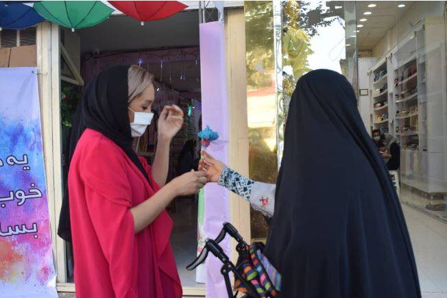 دختران آتش به اختیار تهرانی وسط میدان + عکس