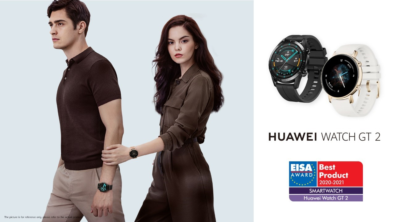 دریافت  جوایز بهترین دوربین گوشی و ساعت هوشمند  هوآوی از EISA