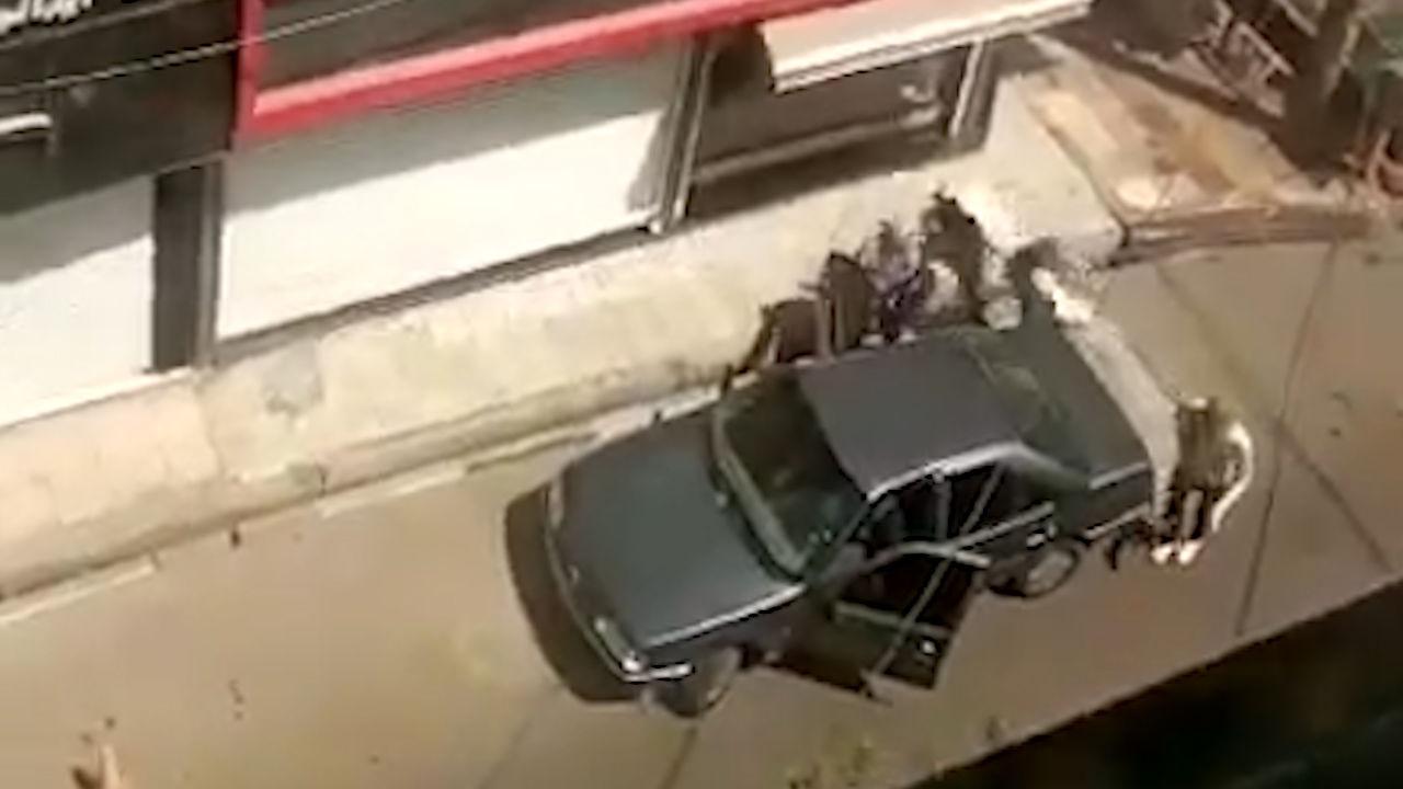 فیلم جدید از صحنه سرقت مسلحانه طلافروشی اسلامشهر / گونی پر از طلا + جزییات