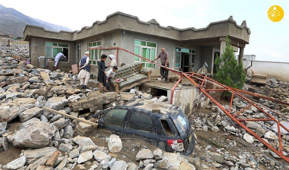 سیل مرگبار در پروان افغانستان + عکس