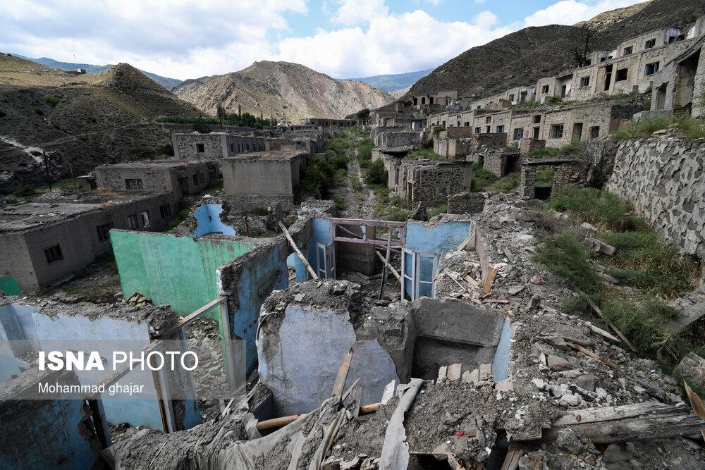 شهرک متروکه معدن نشینان در گلستان + عکس