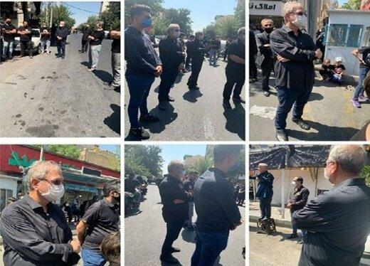 عزاداری علی ربیعی در جنوبی ترین نقطه تهران+عکس