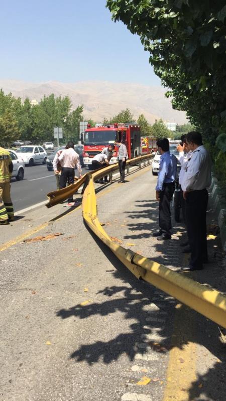 موتورسوار تهران مرگ