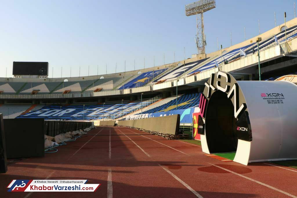 عکس مجهزترین تونل ضدعفونی کشور در ورزشگاه آزادی عکس| مجهزترین تونل ضدعفونی کشور در ورزشگاه آزادی   نیوز