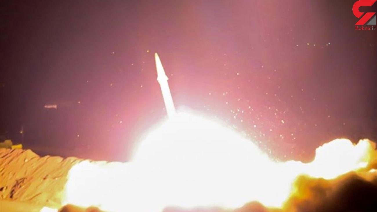 فیلم دیدنی از نقطهزنی موشک خرمشهر-۲