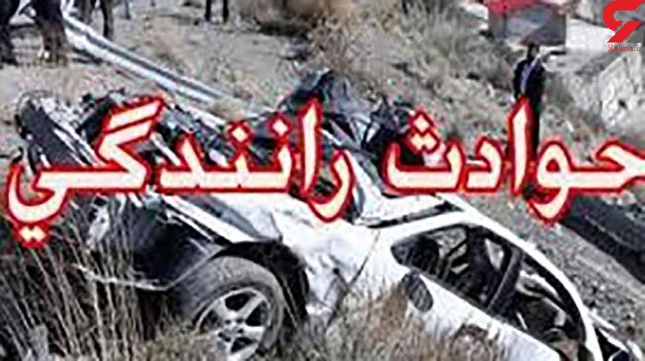 یک کشته در تصادف رانندگی جاده مراغه – هشترود