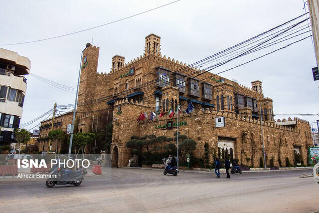 وضعیت خاص رستورانی در بیروت + عکس