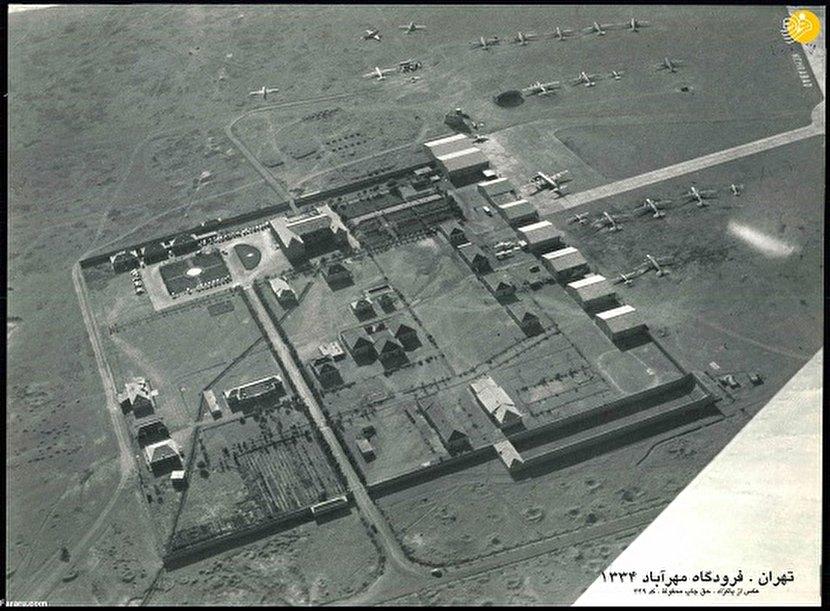 وقتی تصویر فرودگاه مهرآباد روی اسکناسها چاپ شده بود + عکس