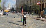 تظاهرات لبنان کشته برجای گذاشت +فیلم