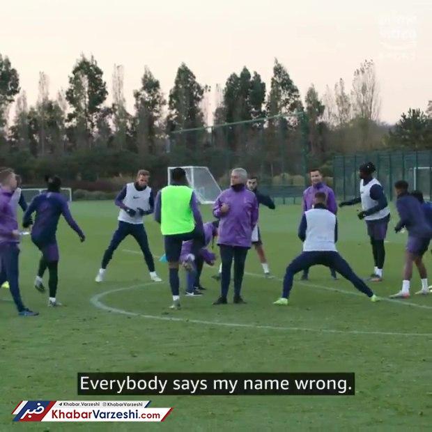 عصبانیت مورینیو از تلفظ اشتباه اسمش